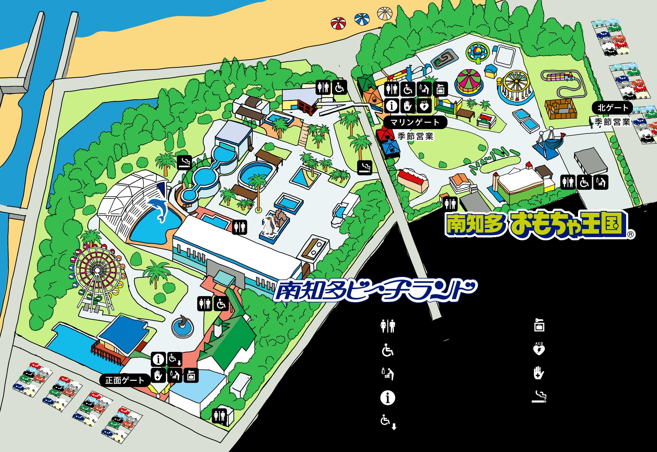 園内マップの画像